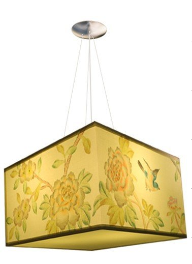 Aliexpress buy hand painted chandelier dd070250 from reliable aliexpress buy hand painted chandelier dd070250 from reliable silk chandeliers suppliers on chinoiserie trendy ornaments store aloadofball Choice Image