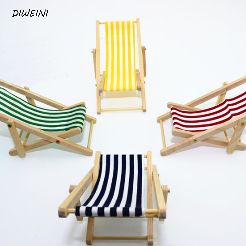 1 Pcs/set Lovely Mini Foldable Wooden Deck Beach Chair Couch Recliner 112 New  sc 1 st  AliExpress.com & Mini Recliners Promotion-Shop for Promotional Mini Recliners on ... islam-shia.org