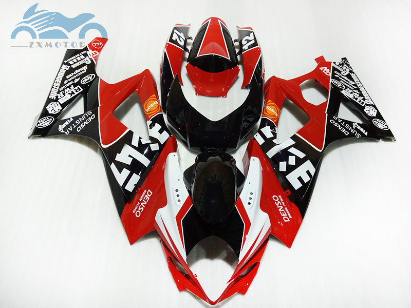 Customized motorcycle Fairing set for <font><b>Suzuki</b></font> GSXR 1000 2007 2008 <font><b>GSXR1000</b></font> K7 <font><b>K8</b></font> street streets fairings <font><b>kit</b></font> 07 08 repair parts image