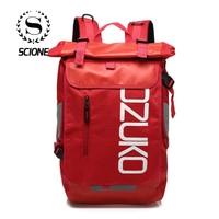 Scione Fashion Oxford Creative Travel Backpacks High Density Waterproof Bagpack Cloth Anti microbial Shoulder Bags For Men Women