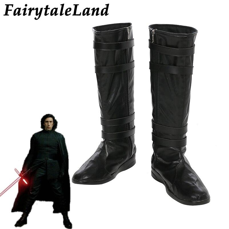 Black Super Hero Darth Vader Batman Star Wars Costume Mens Boots size 8 9 10 11