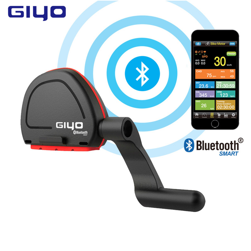 GIYO Bicycle <font><b>Computer</b></font> Wireless Gps Speedometer Cadence Sensor Fitness Bluetooth 4.0/IOS/Android Cycling Riding Bike <font><b>Computer</b></font>