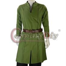 Cosplaydiy Custom Made Medieval Men Costume Fantasy Viking Norseman Lotr Mens All Period Shirt Tunic Clothing