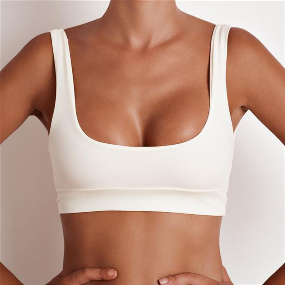 a4e316fe97 Solid Color Bikinis 2017 Women's Two-Piece Separates Swimsuit Bikini top  Swimwear Bandeau Swimming Wear Biquini U back push up - TakoFashion -  Women's ...