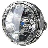 7 Cal Motocykl Okrągłe Reflektory Halogenowe H4 Żarówka Lampy Głowy Side Góra Styl 12 V Dla Honda Kawasaki Dla Yamaha