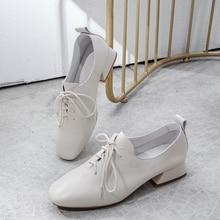 Большой размер 42; женские туфли-оксфорды из натуральной кожи на плоской подошве со шнуровкой; мягкие удобные эспадрильи для отдыха; Всесезонная обувь в британском стиле