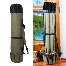 Shaddock Fishing Multifunction Nylon Fishing Bags Case Fishing Tackle Tools Storage Bag Durable Portable Fishing Rod Bag цена