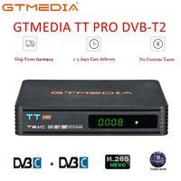 TT PRO DVB-T2/T TT Receptor PRO Caixa De TV HD Sintonizador de TV Digital DVB T2/C H.264 Terrestre receptor de TV DVB-T CAIXA de TV Decodificador Tunner