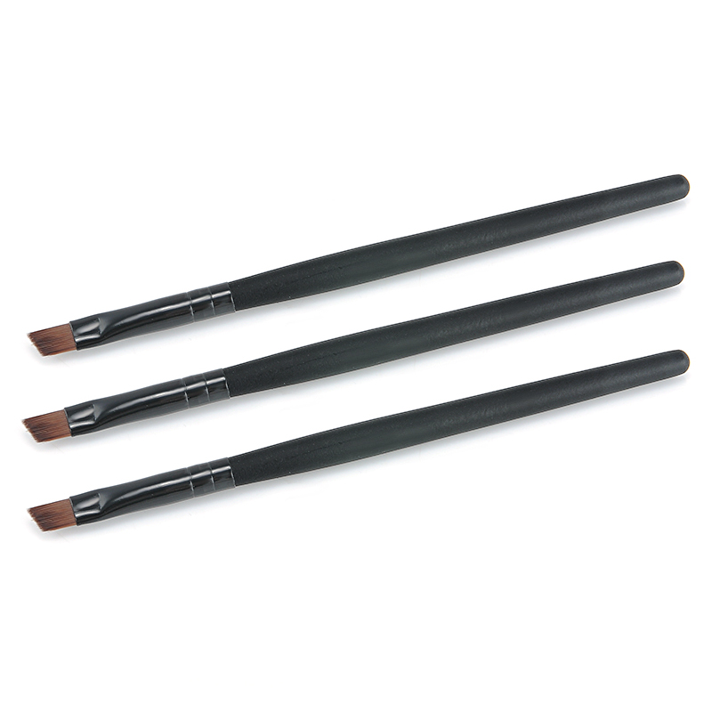 free shipping 3pcs/set Eyebrow brush Eye brushes set eyeshadow Mascara Blending Pencil brush Makeup brushes MakeUp Tools