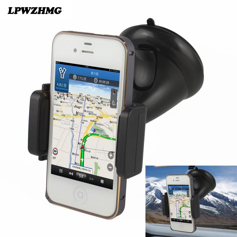new universal car cell phone holder windshield sucker type mobile holder support telephone. Black Bedroom Furniture Sets. Home Design Ideas