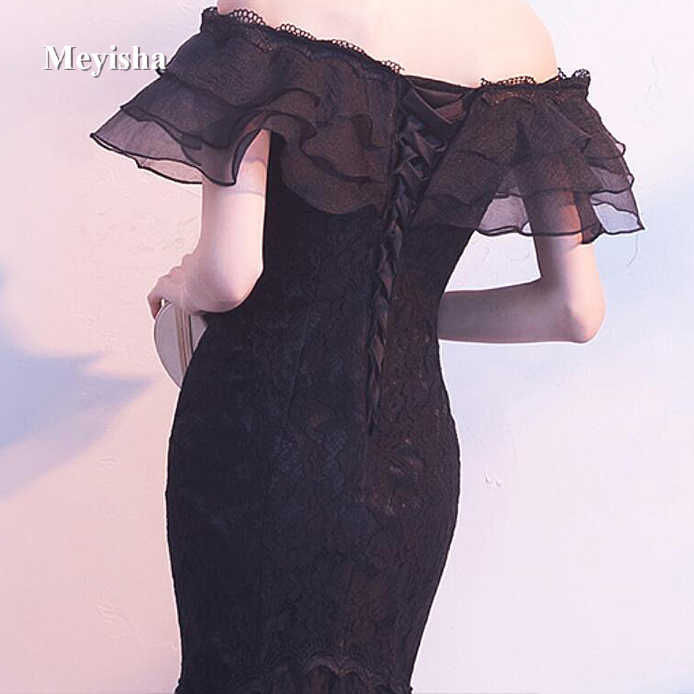 ZJ7007 New Tulle Lace Burgundy Black Ivory Cocktail Dress 2017 short Party  Dresses Formal Prom gowns Fishtail Mermaid Dress-in Cocktail Dresses from  ... b0cf4ee48ec8