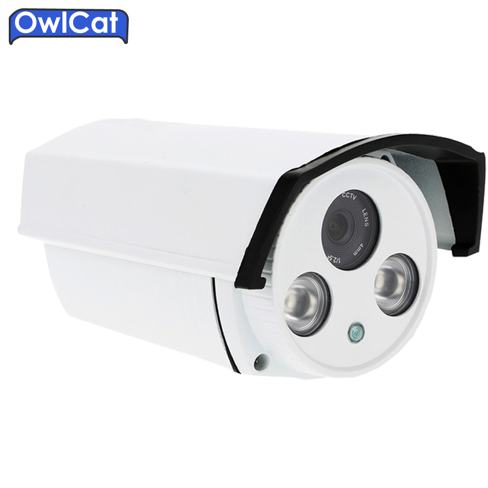 OwlCat HD720p 960p 1080p Outdoor Waterproof CCtv Security ip camera ONVIF2.0 IR CUT H.264 Night Vision Cam P2P CMOS h 264 mini 1 0mp dome ip camera 720p cctv security onvif 12pcs ir indoor outdoor ir cut cam night vision p2p xmeye app view