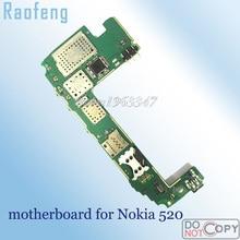 Raofeng высокое качество wcdma версия материнская плата для Nokia Lumia 520 материнская плата Разобранная разблокированная материнская плата с чипами
