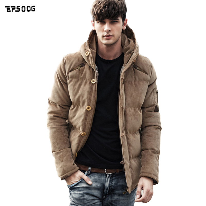 Winter jacket men winter coat male young fashionable hooded jacket