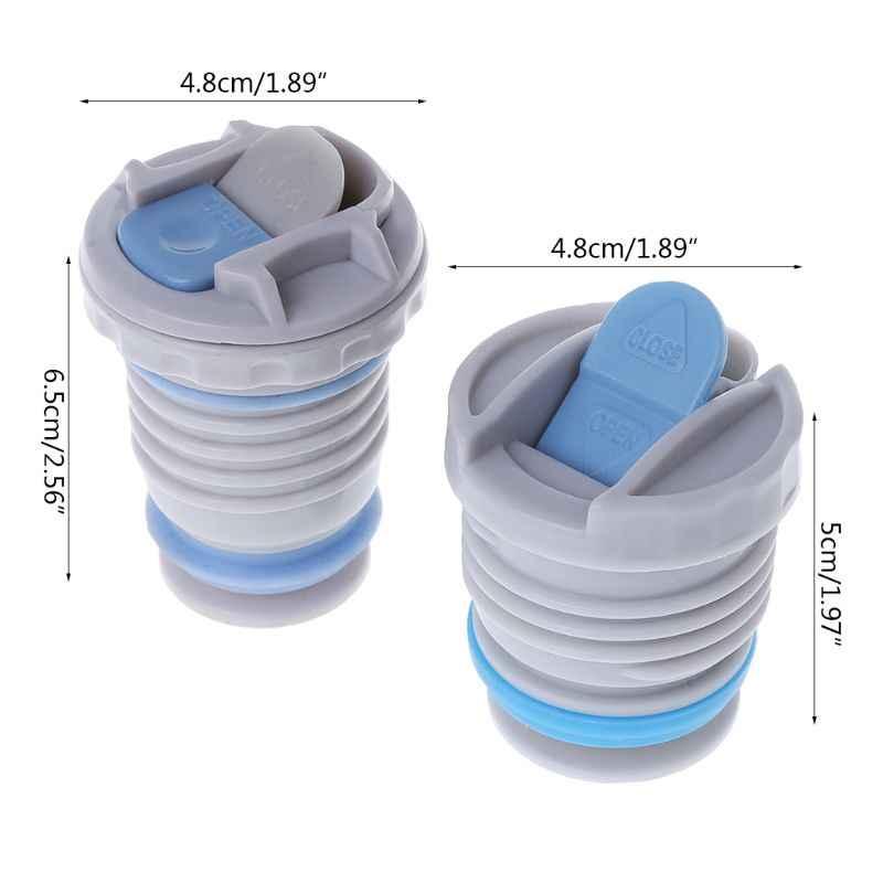 4,4 cm/4,5 cm tapa de frasco de vacío termo cubierta portátil Universal taza de viaje Accesorios