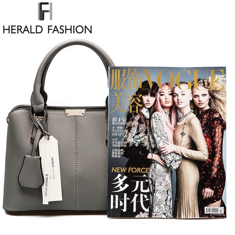 Herald Fashion PU ტყავის ზედაპირით - ჩანთები - ფოტო 2