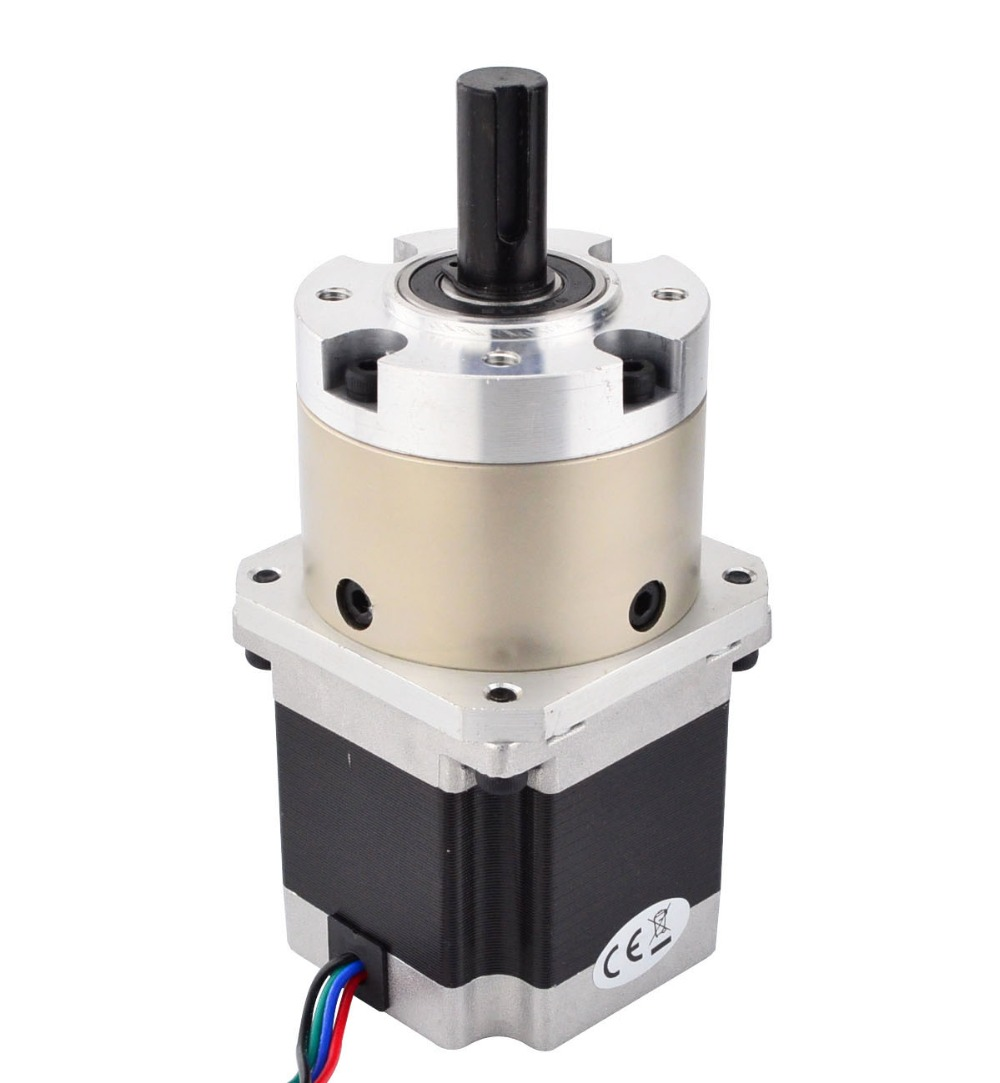 4 1 Planetary Gearbox Nema 23 Stepper Motor 2 8A for DIY CNC Mill Lathe Router