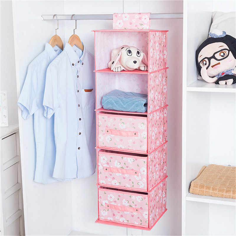 רב שכבתי תליית שקיות אחסון קיר רכוב ארון לתלות תיק מגירה מתקפל קיר פאוץ בגדי צעצועי חיתול Caddy ארגונית