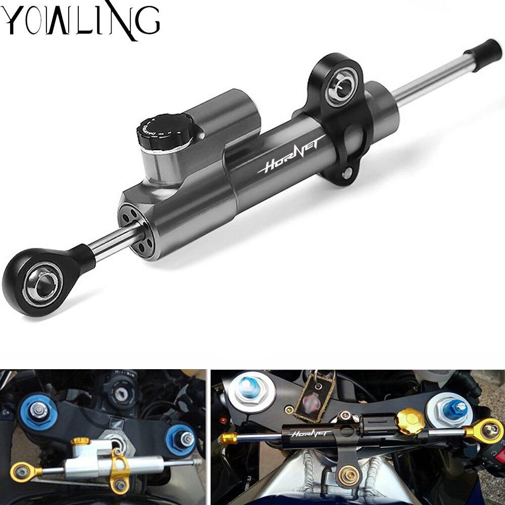 Motorcycle Damper Steering StabilizerLinear Reversed Safety Control For HONDA CB600F CB 600F CB919 cb900f HORNET 250