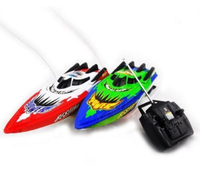 2017 New Red Green Radio Remote Control Twin Motor High Speed Boat RC Racing Outdoor Toys