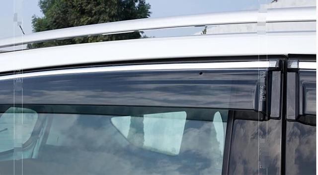 Para Ford Escape Kuga 2013 2014 Viseiras Da Janela Toldos Viseira Deflector de Vento Chuva Ventilação Guarda 4 pçs/set