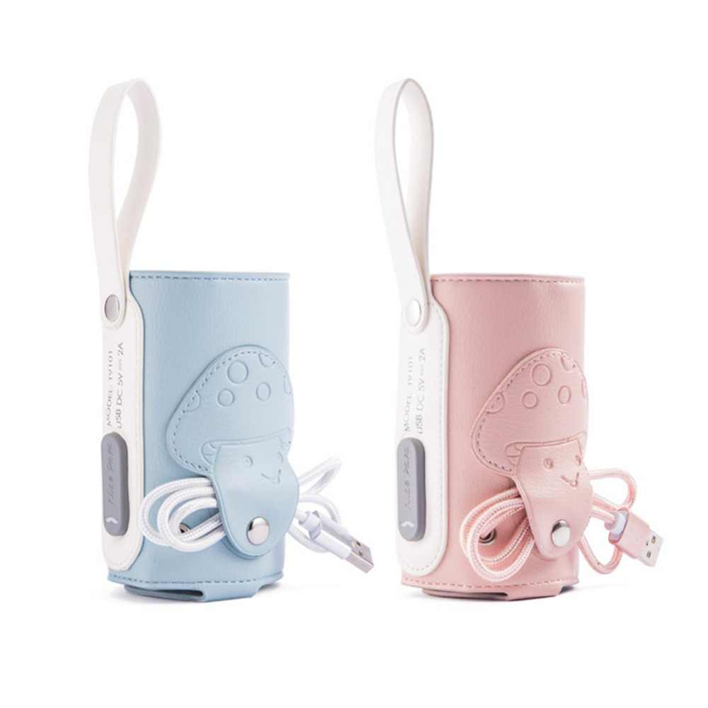 USB Charging Constant Temperature PPSU Baby Bottle Heater 5V Car Heating For Water Cups Mineral Water Bottles Milk Boxes
