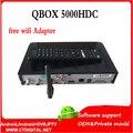Cingapura caixa de cabo preto qbox hdc5000 St ** rhub preto caixa de Cabo HD Receptor de TV QBOX 5000HDC vs qbox receptor hd futebol CH N3