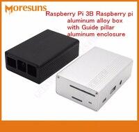 Fast Free Ship 5pcs Lot Raspberry Pi 3B Raspberry Pi Aluminum Alloy Box Metal Case With