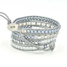 Fashion Multilayer Crystal Bracelet Natural Stone Beaded Women Men Jewelry Adjustable Best Selling 2019 Products