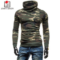 John S Bakery 2018 New Fashion Hoodies Brand Men Camouflage Sweatshirt Male Hoody Hip Hop Autumn
