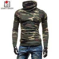 John S Bakery 2018 New Fashion Hoodies Brand Men Camouflage Sweatshirt Male Hoody Hip Hop Autumn