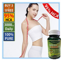 6 Bottle 2016 Hot sell full natural diet supplements per bottle 95% HCA Pure Garcinia Cambogia Extract for body health