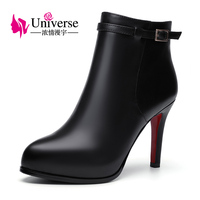 Universe Winter Women Boots super high heel shoes women concise ankle boots C228