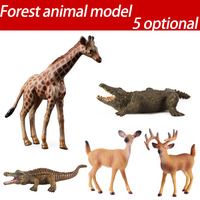 Wild Animal Model Horse Toys Preschool Cognitive Static Model Of Solid Environmental Protection Decoration
