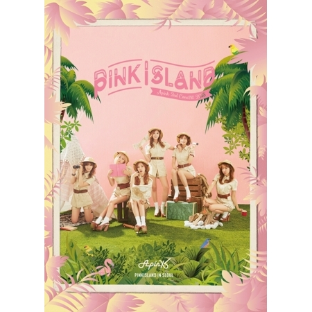 все цены на APINK 2ND CONCERT ALBUM - PINK ISLAND Release date 2016.03.09 KPOP
