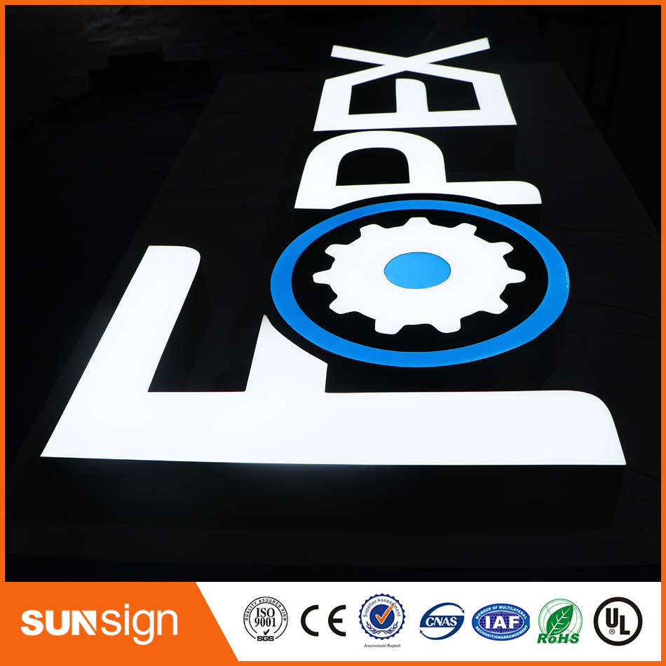 Advertising 3D Letters Custom Outdoor Sign