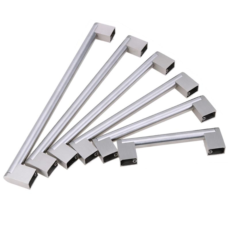 Hole Center 96-256mm Cabinet Pulls Stainless Steel Furniture Drawer Handle Kitchen Cabinet Door Knob Pull Hardware Handles Pulls 4pcs naierdi c serie hinge stainless steel door hydraulic hinges damper buffer soft close for cabinet kitchen furniture hardware