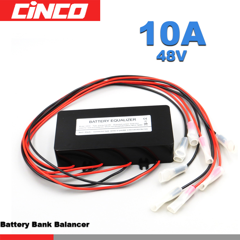 Battery Equalizer HA02 Batteries Voltage balance Li li ion Lead Acid Battery Connected in parallel series for 24/36/48V Control-in Solar Controllers from Home Improvement    1
