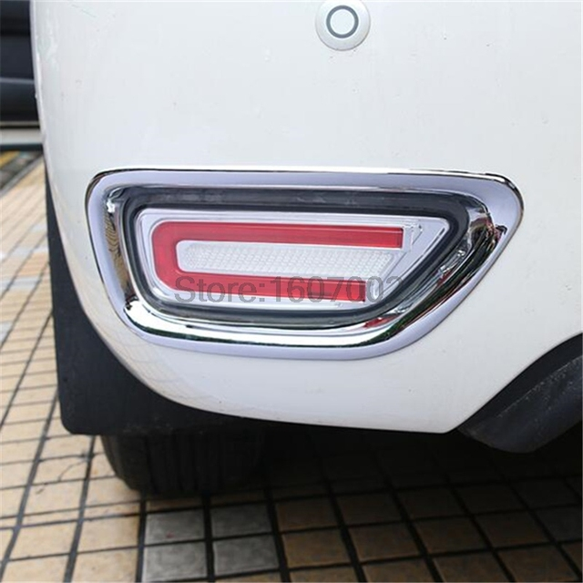 US $25 1 16% OFF|Aliexpress com : Buy For Nissan patrol y62 2011 2017 ABS  Chrome Rear Fog Light Cover Trims High quality!2pcs/set from Reliable fog