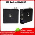 k1 s2 10pcs Quad core k1 dvb s2 android tv box kitkat 4.4 Amlogic S805 Quad core 2.4G wifi XBMC player vigica c100s