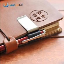 1 Pcs Metal Pen Holder Brass Pen Clip For Vintage Genuine Leather Traveler Notebook
