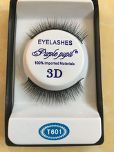1 Pair Natural Makeup 3D Mink Lashes Long Fake Eyelashes