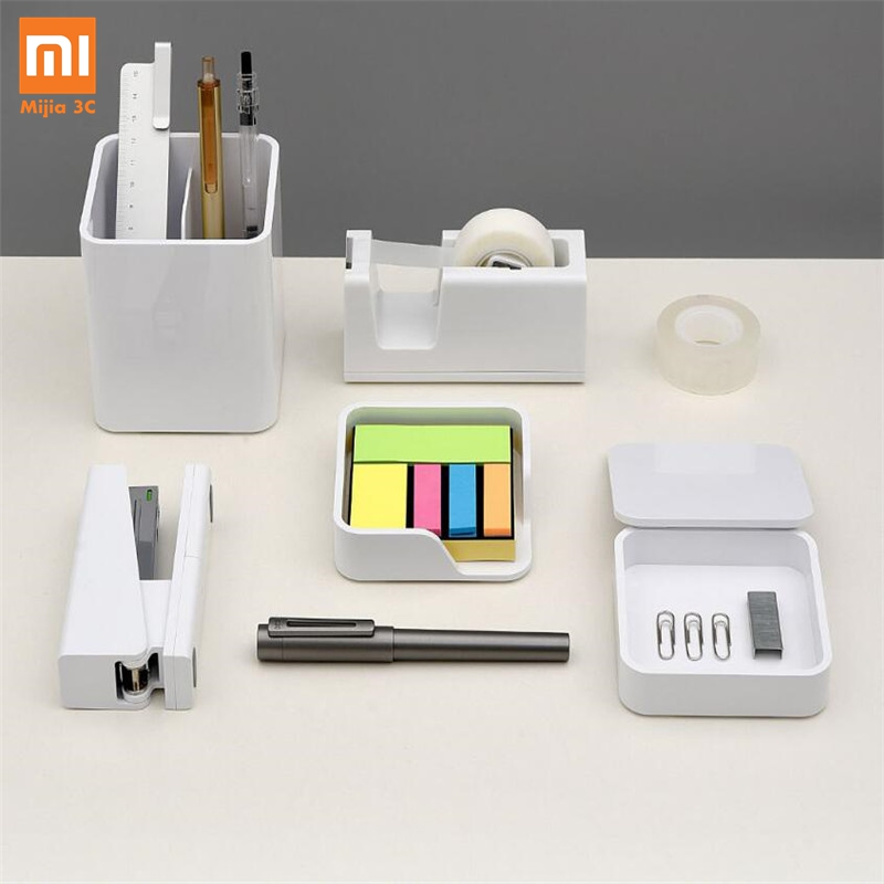 Xiaomi KACO LEMO Desktop Storage Box Storage Box Note Box Product Box 3 In 1 Assembly Free Simple Design Work For The Office Fam