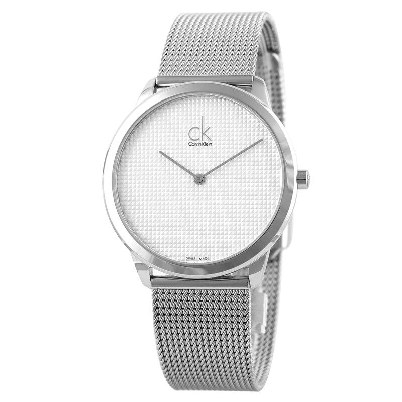 CalvinKlein الحد الأدنى سلسلة كوارتز ساعة رجالي K3M2112Y-في ساعات الكوارتز من ساعات اليد على  مجموعة 1