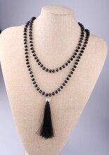 Платье ожерелье черный