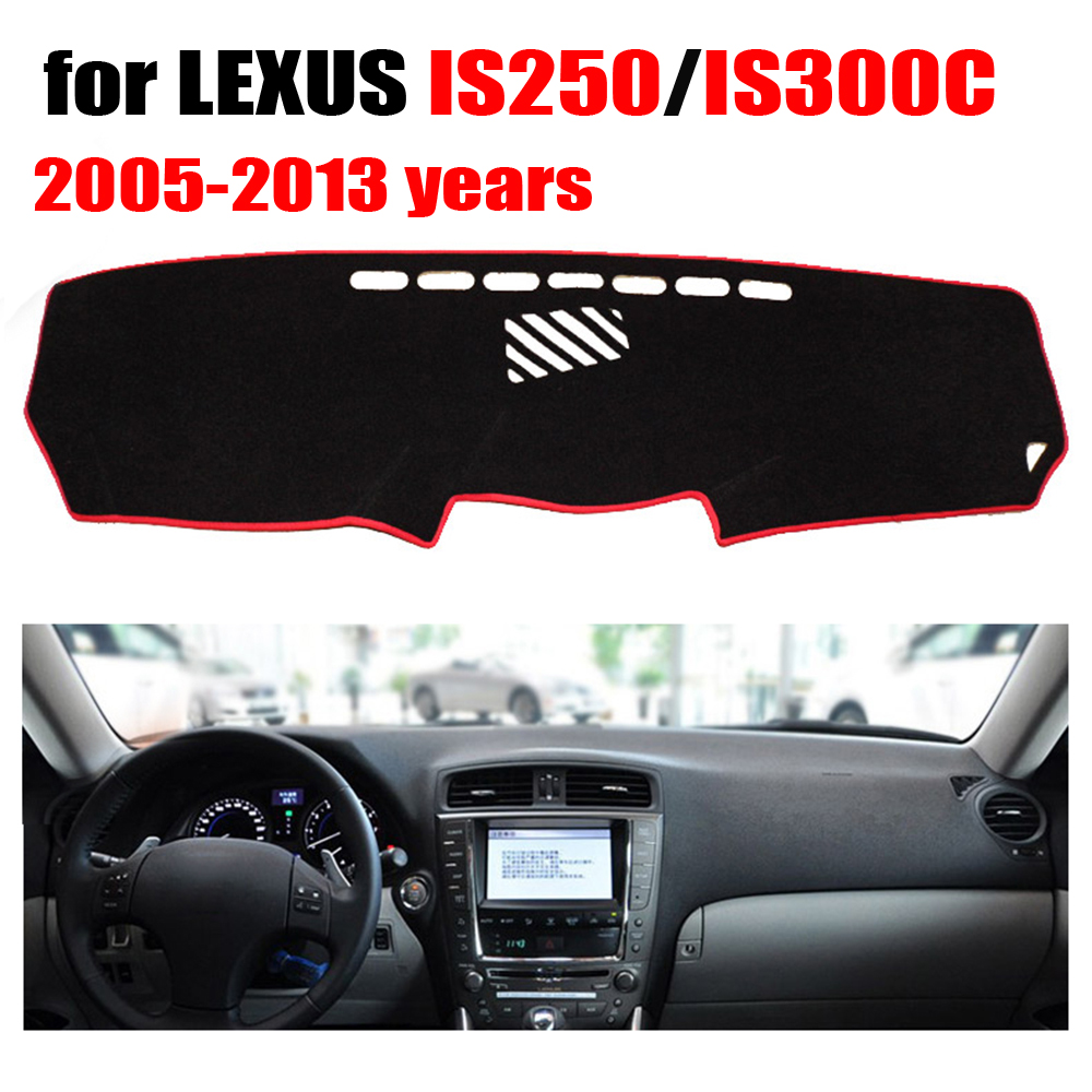 car dashboard cover for lexus is250 is300c 2005 2013 years. Black Bedroom Furniture Sets. Home Design Ideas