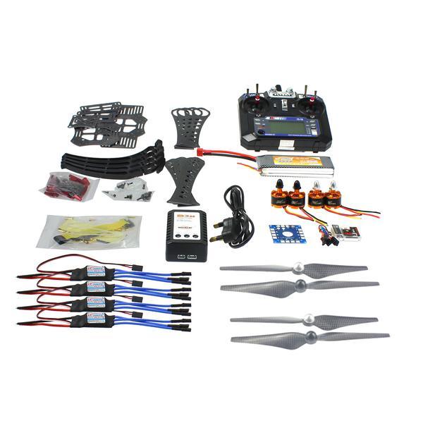 F14892 F DIY RC font b Drone b font Quadrocopter RTF X4M360L Frame Kit QQSuper Flysky