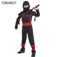 Classic Halloween Costumes Cosplay Costume Martial Arts Ninja Costumes For Kids Fancy Party Decorations E0115