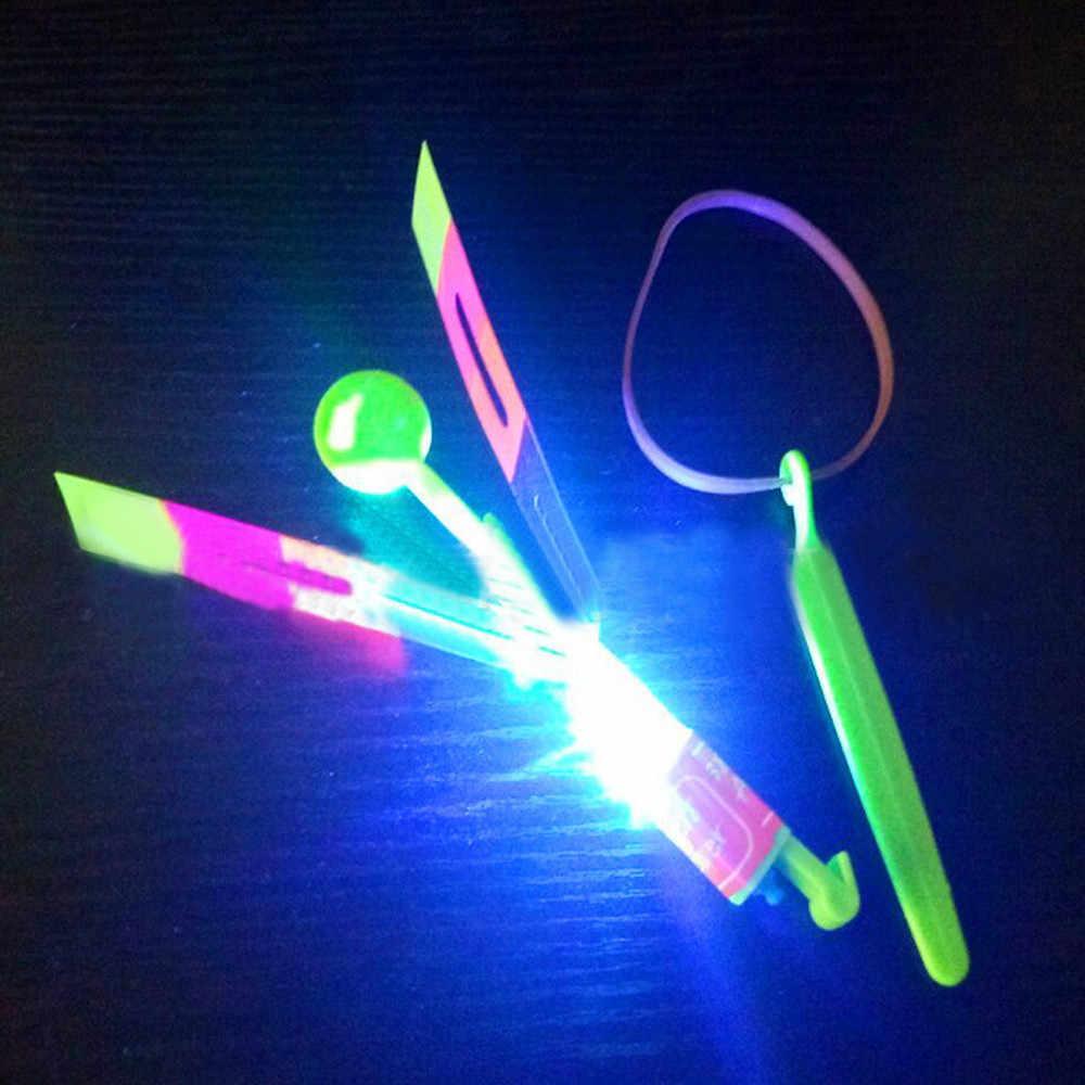 Лидер продаж Пластик светодиодный свет мигает Стрекоза свечение для вечерние игрушки смешной подарок игрушки чтобы скрасить Падение Неба Shipping18Jan04