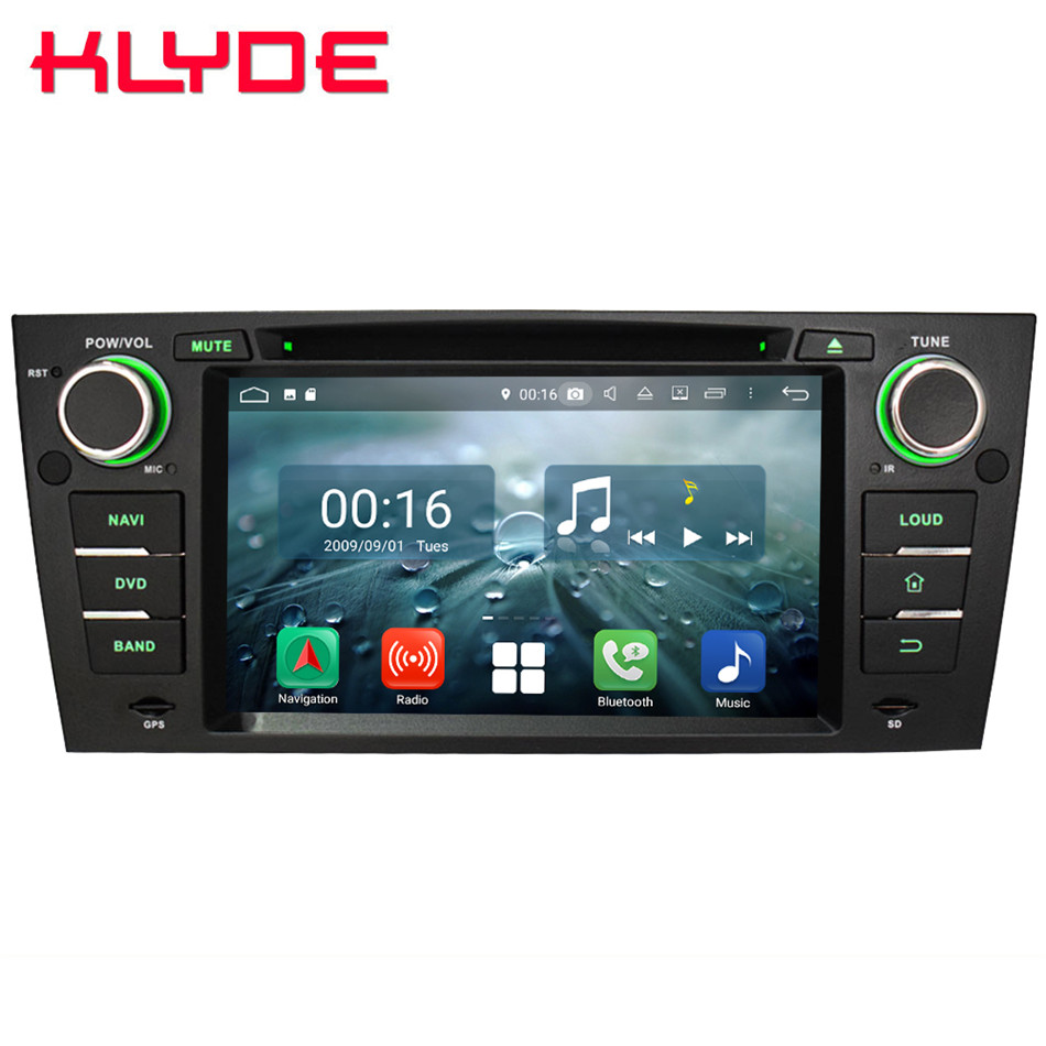 "Best 7"" Octa Core 4G WIFI Android 8.1 4GB RAM 64GB ROM RDS Car DVD Multimedia Player Stereo Radio For BMW E90 E91 E92 E93 2005-2012 0"